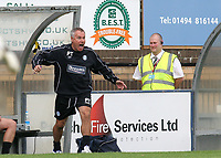 Wycombe Wanderers Manager, Peter Taylor during Wycombe Wanderers vs Lincoln City, Coca Cola League Division Two Football at Adams Park on 23rd August 2008