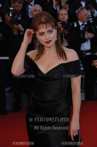 """Actress HELENA BONHAM CARTER at gala screening for """"Volver"""" at the 59th Annual International Film Festival de Cannes..May 17, 2006  Cannes, France..© 2006 Paul Smith / Featureflash"""