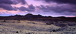 Africa, ESP, Spain, Canary Islands, Lanzarote, Nationalpark Timanfaya , Montanas del Fuego, Volcanic landscape, Dawn, Moonrise....[ For each utilisation of my images my General Terms and Conditions are mandatory. Usage only against use message and proof. Download of my General Terms and Conditions under http://www.image-box.com or ask for sending. A clearance before usage is necessary...Material is subject to royalties. Each utilisation of my images is subject to a fee in accordance to the present valid MFM-List...Contact | archive@image-box.com | www.image-box.com ]