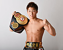 Boxing: Naoya Inoue of Japan during portrait session at Ohashi Boxing Gym