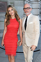 Elizabeth Hurley and Patrick Cox<br /> at the at the V&A Museum Summer Party 2017, London. <br /> <br /> <br /> ©Ash Knotek  D3286  21/06/2017