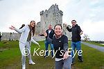Lisa Sheahan,  Kevin Griffin Marian O'Callaghan  and Alan Breen who all star in the Killarney Jerusalem dance video showing the sites of Killarney which has gone viral