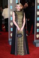 Haley Bennett<br /> arriving for the BAFTA Film Awards 2018 at the Royal Albert Hall, London<br /> <br /> <br /> ©Ash Knotek  D3381  18/02/2018