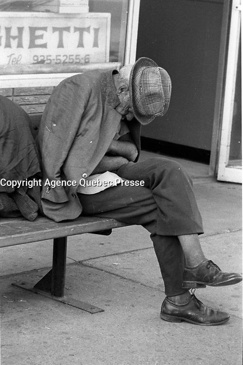 Scenes de rue en 1983<br /> <br /> <br /> PHOTO : Pierre Roussel -  Agence Quebec Presse