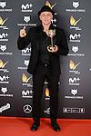 Roberto Alamo win the award at Feroz Awards 2017 in Madrid, Spain. January 23, 2017. (ALTERPHOTOS/BorjaB.Hojas)