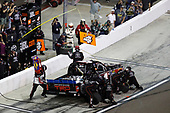 NASCAR Camping World Truck Series <br /> Lucas Oil 150<br /> Phoenix Raceway, Avondale, AZ USA<br /> Friday 10 November 2017<br /> Christopher Bell, JBL Toyota Tundra, pit stop<br /> World Copyright: Michael L. Levitt<br /> LAT Images