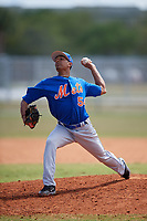 New York Mets Pitcher Kevin Canelon (54) during a minor league Spring Training game against the St. Louis Cardinals on March 28, 2017 at the Roger Dean Stadium Complex in Jupiter, Florida.  (Mike Janes/Four Seam Images)