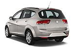 Car pictures of rear three quarter view of a 2014 Seat ALTEA XL I-TECH Special 5 Door Mini MPV 2WD Angular Rear