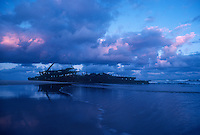 Shipwreck on Fraser Island, Queensland, Australia
