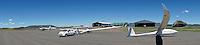 Gariepdam Flugplatz: AFRIKA, SUEDAFRIKA, ORANGE FREE STATE, GARIEPDAM, 11.01.2014: Gariepdam Flugplatz