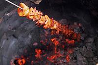 """Asie/Inde/Rajasthan/Jaipur : Restaurant """"Surabhi"""" - Tandori de poulet"""