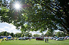 Sep 8, 2012; Parking on Burke Golf Course..Photo by Matt Cashore/University of Notre Dame