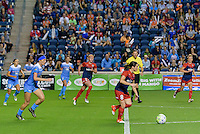 Chicago, IL - Saturday Sept. 24, 2016: Diana Matheson during a regular season National Women's Soccer League (NWSL) match between the Chicago Red Stars and the Washington Spirit at Toyota Park.