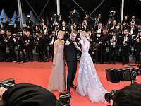 Nicolas Winding Refn, Liv Corfixen, Elle Fanning attends 'The Neon Demon' Premiere during the 69th annual Cannes Film Festival at the Palais des Festivals on May 20, 2016 in Cannes, France.