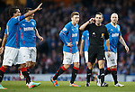 Andrew Dallas takes charge of his first match at Ibrox
