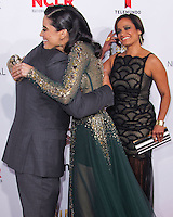 PASADENA, CA, USA - OCTOBER 10: Edy Ganem, Michael Pena, Judy Reyes arrive at the 2014 NCLR ALMA Awards held at the Pasadena Civic Auditorium on October 10, 2014 in Pasadena, California, United States. (Photo by Celebrity Monitor)