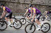 Jasper Philipsen (BEL/Alpecin-Fenix)<br /> <br /> pre Tour teams presentation of the 108th Tour de France 2021 in Brest at Le Grand Départ <br /> <br /> ©kramon