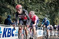 up the Kemmelberg<br /> <br /> 82nd Gent-Wevelgem in Flanders Fields 2020 (1.UWT)<br /> 1 day race from Ieper to Wevelgem (232km)<br /> <br /> ©kramon