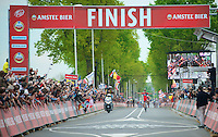3rd victory in the Amstel Gold Race for Philippe Gilbert (BEL/BMC)<br /> <br /> Amstel Gold Race 2014