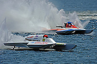 """Cal Phipps, GNH-41  and Joe Kreitzer, GNH-515 """"One Way""""  (Grand National Hydroplane(s)"""
