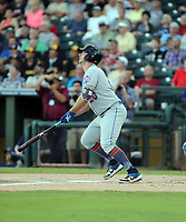 Peter Alonso plays in the 2018 Arizona Fall League Fall Stars Game at Surprise Stadium on November 3, 2018 in Surprise, Arizona. The game was won by the West team, 7-6 (Bill Mitchell)
