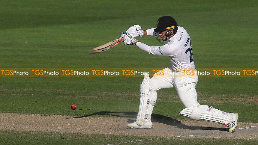 Sussex captain, Tom Haines, in batting action during Sussex CCC vs Middlesex CCC, LV Insurance County Championship Division 3 Cricket at The 1st Central County Ground on 7th September 2021