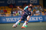 West Ham United (in purple) vs Kitchee (in navy blue), during their Main Tournament match, part of the HKFC Citi Soccer Sevens 2017 on 27 May 2017 at the Hong Kong Football Club, Hong Kong, China. Photo by Marcio Rodrigo Machado / Power Sport Images