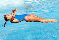 Italy's Tania Cagnotto competes in the women's 1m springboard diving finals at the Swimming World Championships in Rome, 19 July 2009..UPDATE IMAGES PRESS/Riccardo De Luca