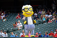 A mascot during a Memphis Redbirds game against the Iowa Cubs on May 29, 2017 at AutoZone Park in Memphis, Tennessee.  Memphis defeated Iowa 6-5.  (Mike Janes/Four Seam Images)