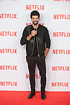 Miguel Angel Munoz attends Netflix presentation in Madrid, Spain. October 20, 2015. (ALTERPHOTOS/Victor Blanco)