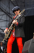 New York Dolls; Sylvain Sylvain;.Photo Credit: Eddie Malluk/Atlas Icons.com