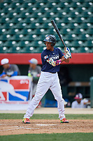 Ayendi Ortiz (6) during the Dominican Prospect League Elite Underclass International Series, powered by Baseball Factory, on August 31, 2017 at Silver Cross Field in Joliet, Illinois.  (Mike Janes/Four Seam Images)