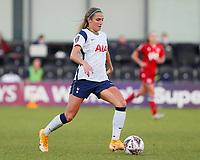 Shelina Zadorsky of Tottenham heads the ball during Tottenham Hotspur Women vs Reading FC Women, Barclays FA Women's Super League Football at the Hive Stadium on 7th November 2020