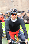 Thor Hushovd (NOR) BMC Racing Team at the sign on before the start of the 104th edition of the Milan-San Remo cycle race at Castello Sforzesco in Milan, 17th March 2013 (Photo by Eoin Clarke 2013)