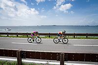 Belgian National Champion Dries De Bondt (BEL/Alpecin-Fenix) about to join the breakaway<br /> <br /> 104th Giro d'Italia 2021 (2.UWT)<br /> Stage 15 from Grado to Gorizia (147km)<br /> <br /> ©kramon