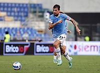 28th August 2021; Olympic Stadium, Rome, Italy; Serie A football, SS Lazio versus AC Spezia : Francesco Acerbi of Lazio