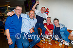 Enjoying the evening in Killarney on Saturday, l to r: Maurice Slattery, Ryan Foley (Ballylongford), Liam Diggins (Ballyduff), Martin O'Flaherty (Moyvane) and Shane Hamill (Ballyduff).