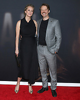 """LOS ANGELES - FEB 24:  Tessa Richardson Dorman and Michael Dorman at the """"The Invisible Man"""" Premiere at the TCL Chinese Theater IMAX on February 24, 2020 in Los Angeles, CA"""