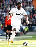 Real Madrid's Michael Essien during La Liga match.March 02,2013. (ALTERPHOTOS/Acero) /NortePhoto