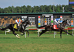 09 July 18: Affirmatif leads Straight Story first time by the wire before Battle of Hastings wins the 12th running of the grade 2 Virginia Derby for three year olds at Colonial Downs in New Kent, Virginia.