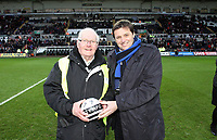 Tuesday 01 January 2013<br /> Pictured: <br /> Re: Barclays Premier League, Swansea City FC v Aston Villa at the Liberty Stadium, south Wales.