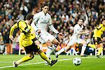 Real Madrid's Raphael Varane  during Champions League match between Real Madrid and Borussia Dortmund  at Santiago Bernabeu Stadium in Madrid , Spain. December 07, 2016. (ALTERPHOTOS/Rodrigo Jimenez)