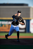 Quad Cities River Bandits starting pitcher Forrest Whitley (26) delivers a pitch during a game against the Lake County Captains on May 6, 2017 at Modern Woodmen Park in Davenport, Iowa.  Lake County defeated Quad Cities 13-3.  (Mike Janes/Four Seam Images)
