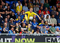 4th September 2021; Merton, London, England;  EFL Championship football, AFC Wimbledon versus Oxford City: Mark Sykes of Oxford United controls the ball