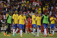 Action photo during the match Brasil vs Peru at Gillette Stadium Copa America Centenario 2016. ---Foto  de accion durante el partido Brasil vs Peru , En el Estadio Gillette Partido Correspondiante al Grupo - B -  de la Copa America Centenario USA 2016, en la foto: Brasil - 12/06/2016/MEXSPORT/Adrian Macias.
