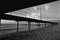 Boardwalk along beach. Sea Girt, NJ<br />