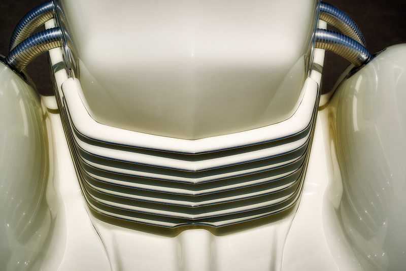 1937 Cord. grill details. Close up of 1937 Cord, Model 812 s/c Westchester. Wilsonville, Oregon