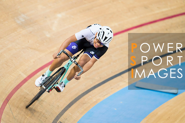 Lee Chun Man of IND in action during the Open Qualifying (200M Flying Start) at the Hong Kong Track Cycling Race 2017 Series 5 on 18 February 2017 at the Hong Kong Velodrome in Hong Kong, China. Photo by Marcio Rodrigo Machado / Power Sport Images