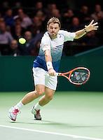 Februari 11, 2015, Netherlands, Rotterdam, Ahoy, ABN AMRO World Tennis Tournament, Stan Wawrinka (SUI)<br /> Photo: Tennisimages/Henk Koster