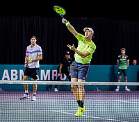 Rotterdam, The Netherlands, 9 Februari 2020, ABNAMRO World Tennis Tournament, Ahoy, Qualyfying round doubles: Kontinen (FIN) / Struff (GER)<br /> Photo: www.tennisimages.com